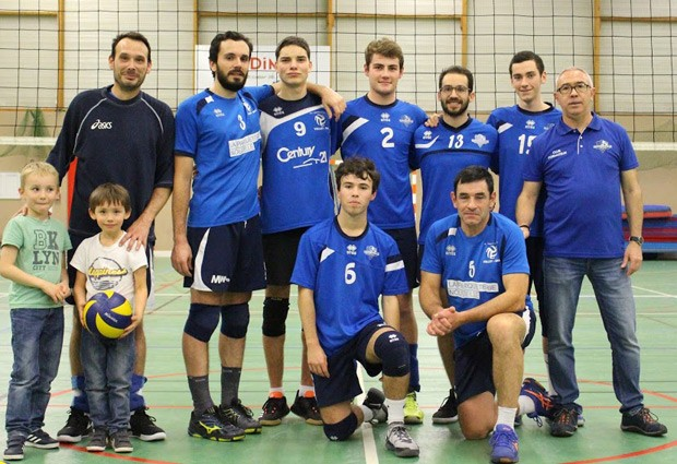 Volley Masculin - Equipe Départemental