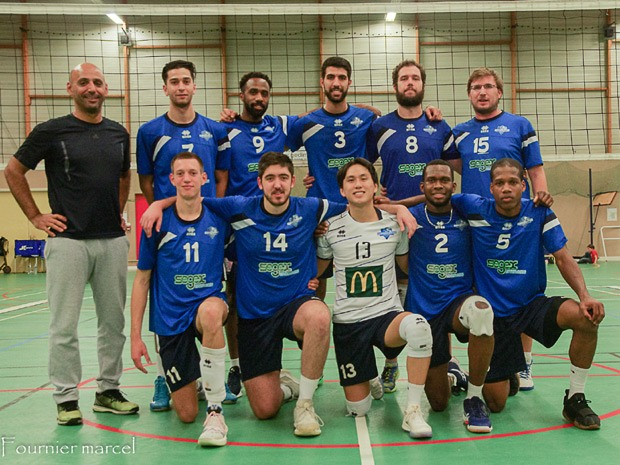 Volley-ball Masculin - Equipe National 2